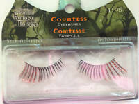 Fantasy Makers Wet N Wild Long Countess Red Black Halloween False Eyelashes