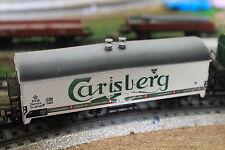 MARKLIN HO 4636 Carlsberg beer car, wagon bière Carlsberg, Carlsberg bier wagon