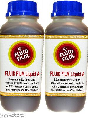 2 Liter Fluid Film Liquid A - Rostschutz Korrosionsschutz Hohlraumschutz