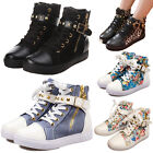 Women Sexy Boots Shoes Ankle Trendy High-Heel Lace Up Casual Sneakers Fashion