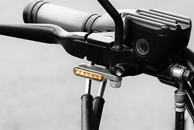 Harley, Buell Sachs Honda Cagiva 2 x LED Mini Blinker Chrom für Benelli