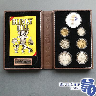 2009 Baby UNC Coin Set Blinky Bill Dorothy Wall Australia Birthday Birth Year