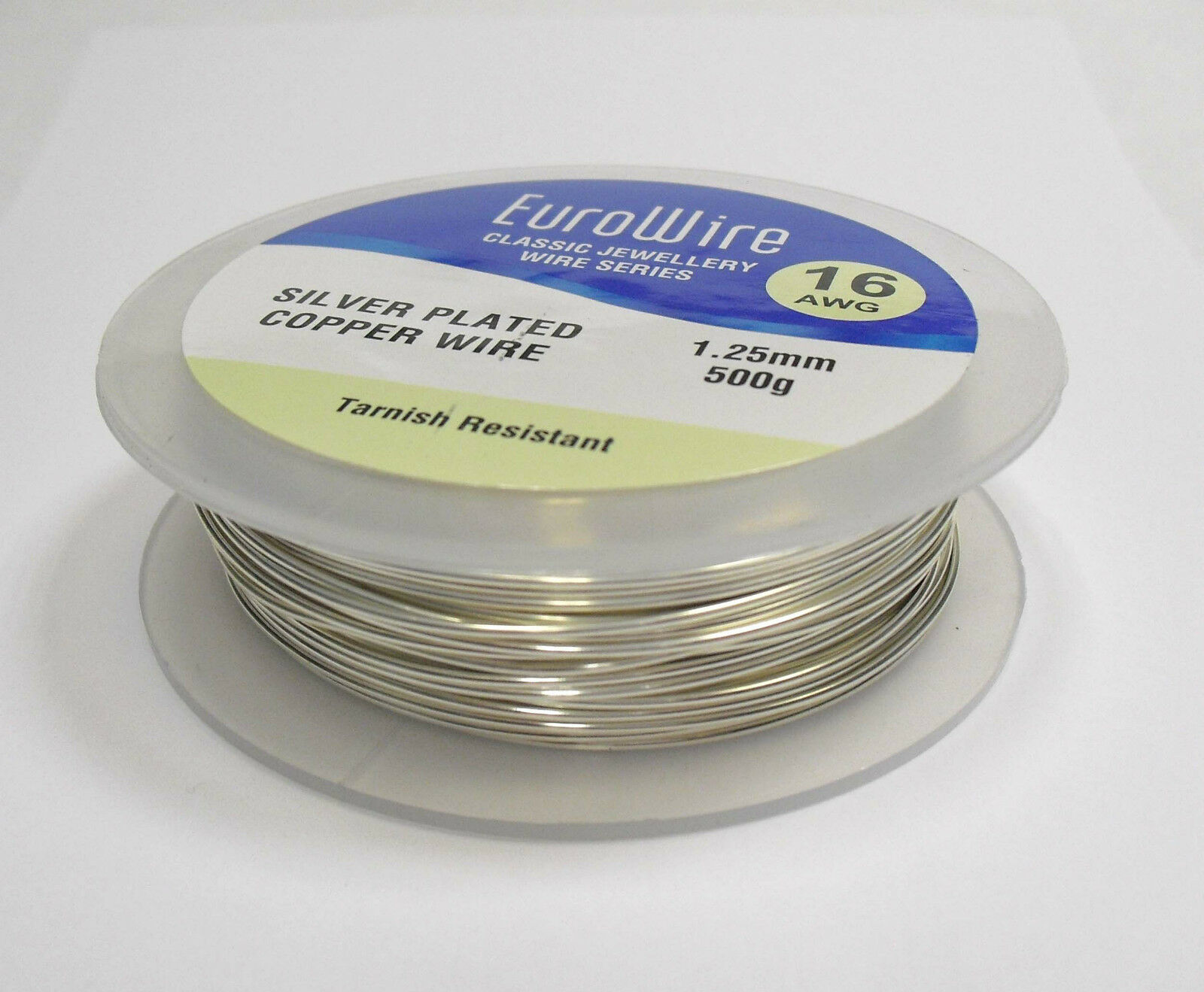 Silver Plated Copper Wire 1.25mm 16 Gauge Non Tarnish 500grams High ...