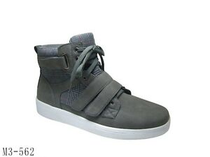Mens-gray-High-Top-Boots-Mens-plaid-high-top-sneaker-boot-by-D-ALDO-8-5-13-VC