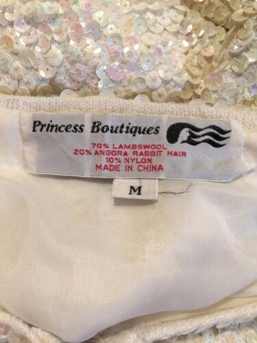M Jacket Sweater Sequin Lambswool Langærmet Prinsesse Boutiques Størrelse q0vSBw