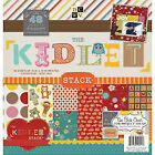 Paper Stacks 12 X 12-inch Diecuts KIDLET Hanging Stack Pack of 48