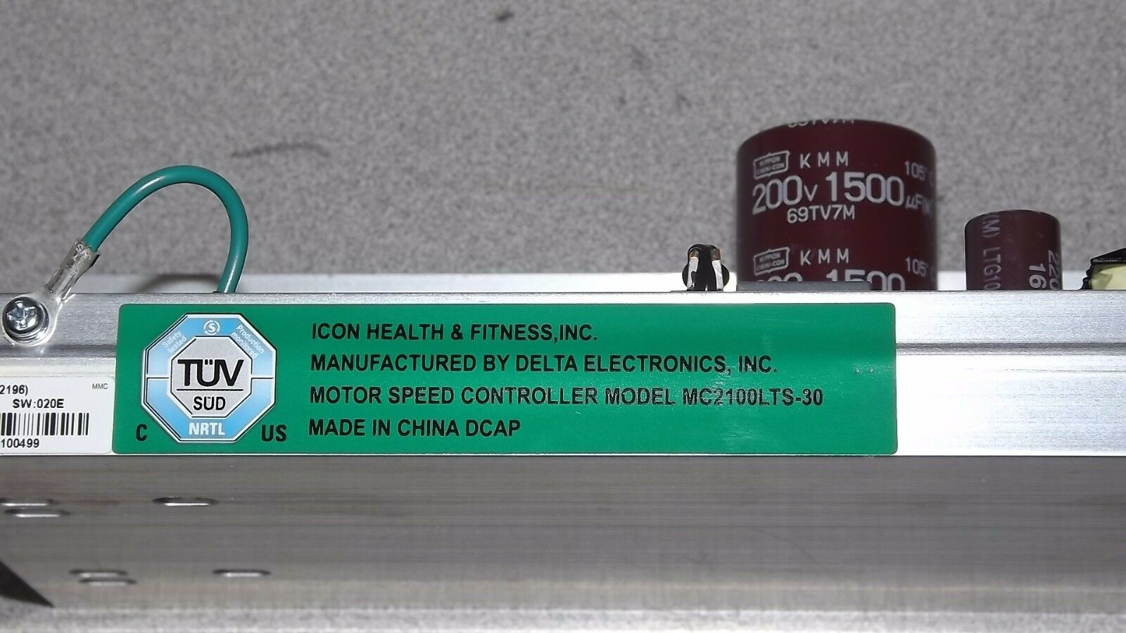 Icon Health And Fitness Mc2100 Lts 30 Treadmill Motor Controller Ebay Nordictrack Wiring Harness
