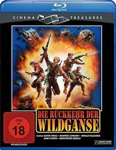 DIE-RUCKKEHR-DER-WILDGANSE-Oliver-Tobias-Manfred-Lehmann-Blu-ray-Disc-NEU
