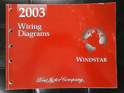 2003 Ford Windstar Wiring Diagrams Manual | eBay