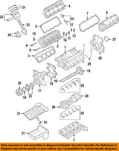 FORD OEM 03-07 F-350 Super Duty-Engine Oil Pump 3C3Z6616BA | eBay