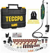 Upgraded Rotary Tool Teccpo 200w 18 Amp 10000 40000rpm 6 Variable Speed With