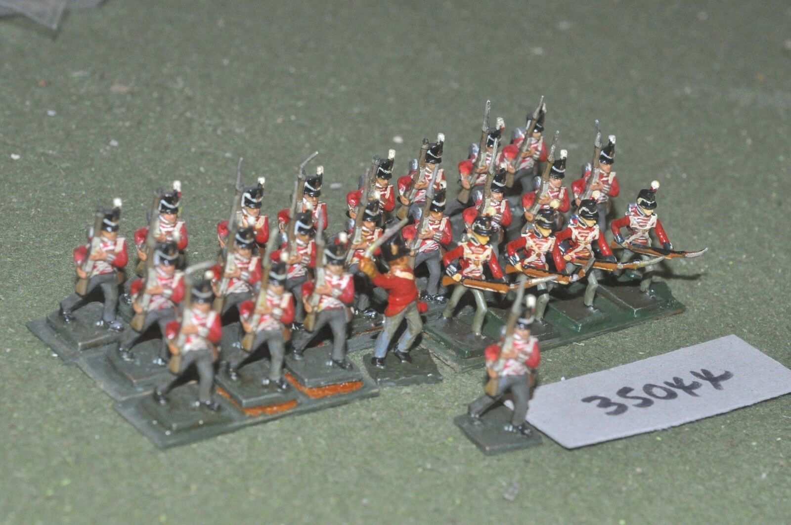 25mm napoleonic   british - line 24 figures - inf (35044)