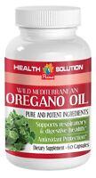 Oregano Oil, Wild Mediterranean (1 Bottle, 60 Capsules)