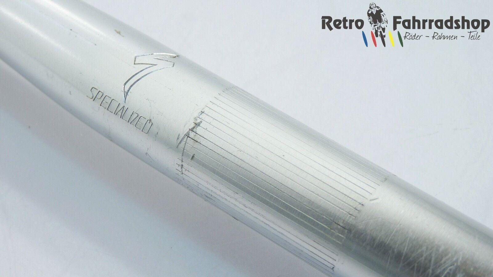Specialized heat treated MTB manillar plata MTB 25,4mm 1988 89 rar 590mm Vintage