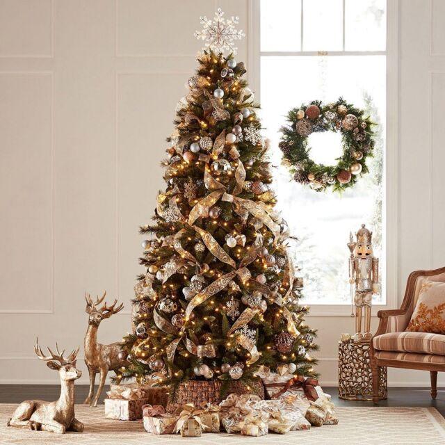 Sams Christmas Trees: Member's Mark 9' Pre-Lit Grand Spruce Artificial Christmas