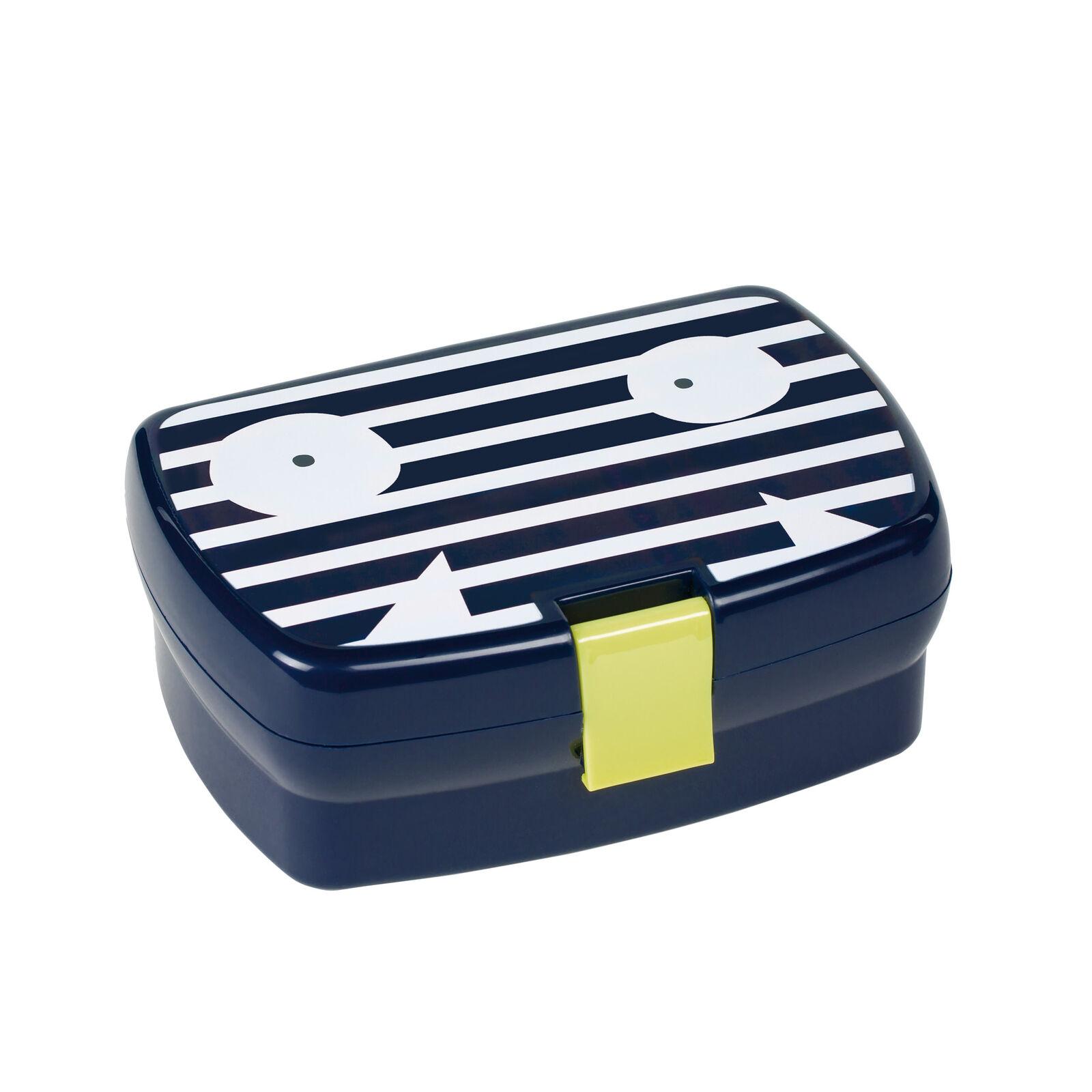 Lässig Lunchbox Brotdose diverse Designs Adventure Friends Bus pink blau