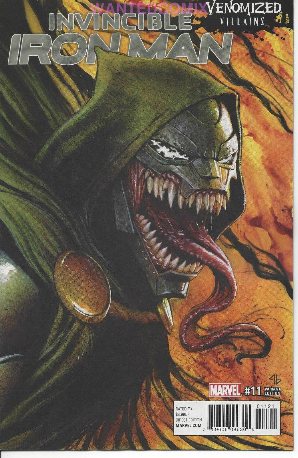 Invincible Iron Man #11 Venomized Variant Edition  Marvel Comics CB16510