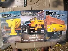 Vintage Original Myer Snow Plows Hopper, MDV, Tailgate Spreader Flyer Brochures