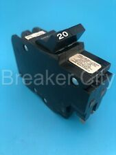 Federal Pacific 20 Amp 2 Pole Type Nc Circuit Breaker American Nc220 Thin Fpe