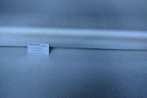 TEXALIUM Tissu Fibre d'Aluminium 200 g/m² Lg 1,27 x 1 ml sergé 2/2  ALUTEX
