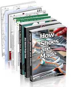 3 shoemaking books plus 8 paper tools Shoe Company Start Up Pro Pack