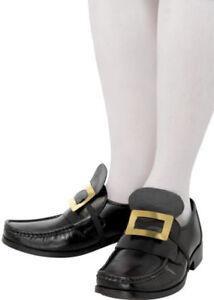 Hebillas de zapatos de pirata de oro