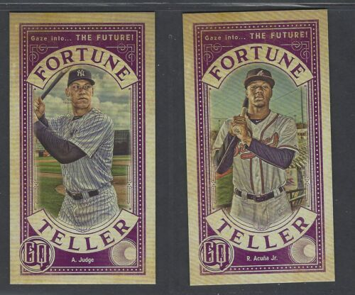 2019 Topps Gypsy Queen Fortune Teller Inserts COMPLETE YOUR SET You Pick!