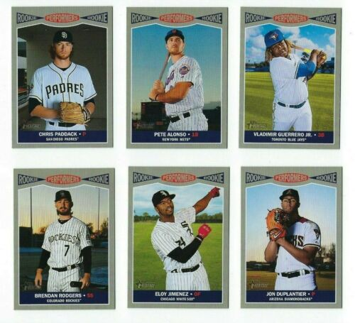 Rookie Performers 2019 Topps Heritage High Number Complete Your Set You U Pick