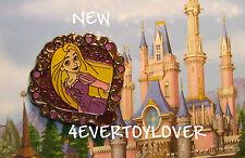 Disney Pin PRINCESS TANGLED  NEW  Badge Pins WDW STORY BOOK Heart