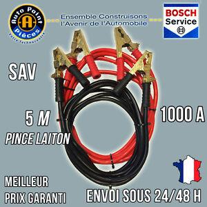 DE DEMARRAGE LAITON 300 AMPERES LOT 2 PINCES PINCES + et -
