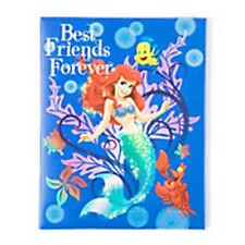Disney The Little Mermaid Ariel Best Friends Forever Wall Canvas Picture - NEW