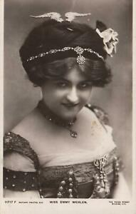 1911-VINTAGE-MISS-EMMY-WEHLEN-ROTARY-PHOTOGRAPHIC-Series-POSTCARD-USED