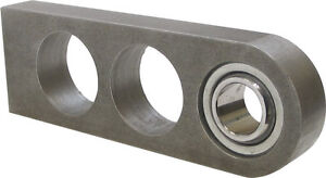 "Borgeson Steering Shaft Coupler 3//4/""Double D to 3//4/""Smooth Weld-On Steel"