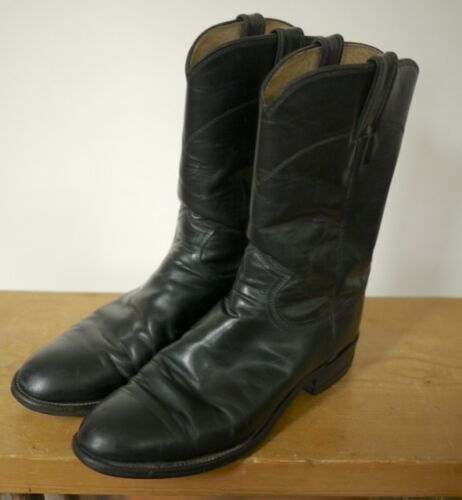 Usa Leather Justin Black classique 3133 de de campus 40 bottes style 7d boy cow zzB5qa