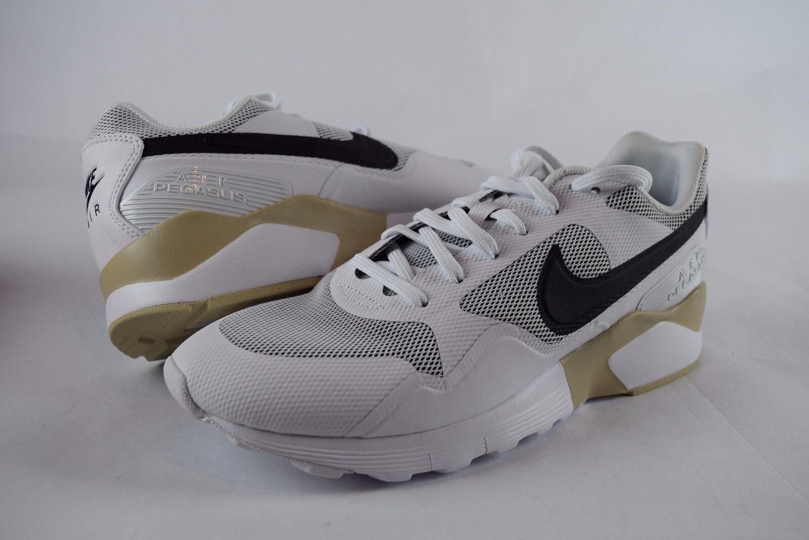 NIB Womens Nike Air Pegasus 92 16 Black White 845012 102 sz 7-9 Sneakers