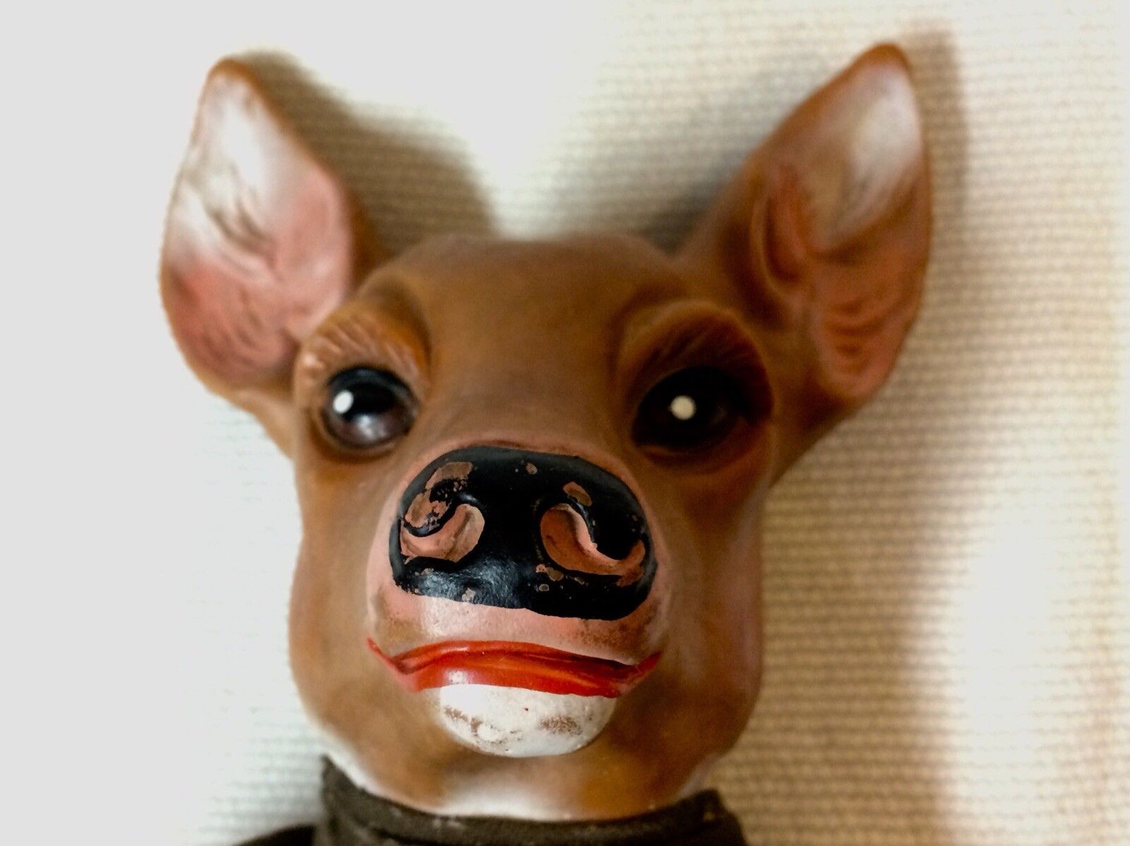 AMAZING DEER / FAWN HAND PUPPET  c. 1940-1950  UNIQUE COLLECTIBLE