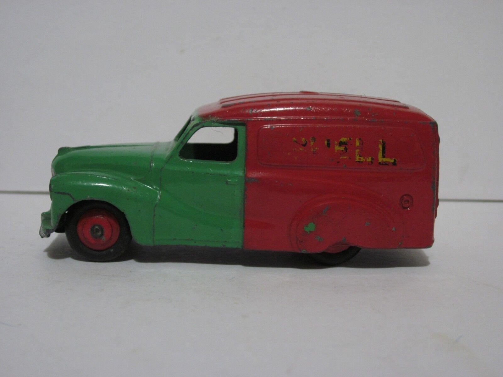 Dinky Toys 470 Austin Van, shell, 1950s vgc original.