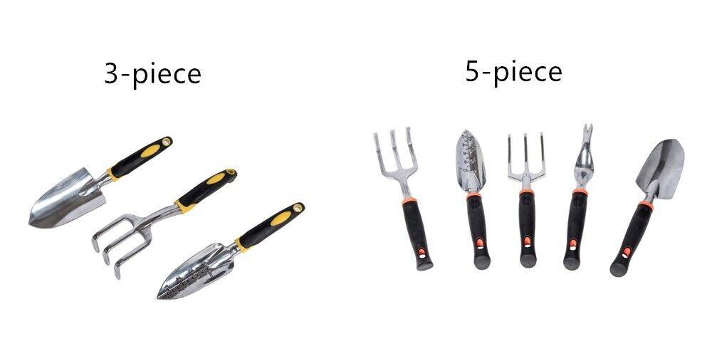 Sundale Outdoor Garden Tools Set, Stainless Steel Heavy Duty Gardening Kit 3