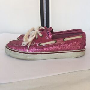 Sperry Top Sider Womens 6M Shoes Pink