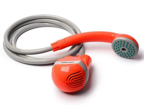 Alimenté Par Batterie Outdoor Portable POMME DE DOUCHE CAMPING Steady Doux Douche Stream