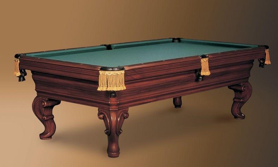 """Image 1 - Renaissance """"Wren"""" Custom 9' Pool Table By Charles Porter"""