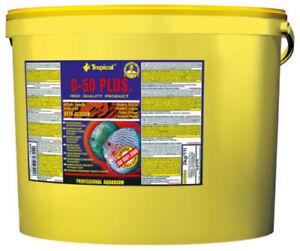 Tropical D-50 Plus Aliment En Flocons Disque 11 Litre Nourriture Pour Poisson