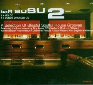 BAR-SUSU-2-Blisful-Soulful-House-Grooves-2CDs-New-Sealed-Roy-Ayers-Blaze