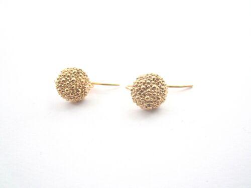 1 paio di basi per orecchini goccia filigrana argento 925 placcato oro rosè