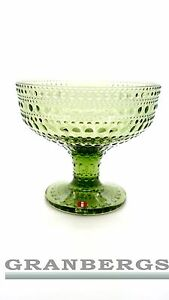 Image is loading Iittala-Kastehelmi-Glass-Bowl-Forest-Green-Dinnerware -Dessert-  sc 1 st  eBay & Iittala Kastehelmi Glass Bowl Forest Green Dinnerware Dessert Bowel ...
