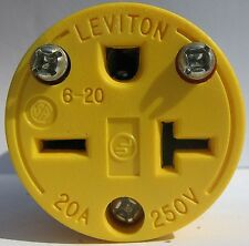 Leviton 520ca-000 Armored Grounding Connector 20 Amp 2 Pole for sale online