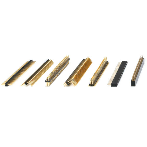 Pin Header Pins 1.27mm Double//Single Row Male PCB Header Socket Gold-Plated