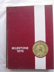 Details about West Essex High School 1976 Yearbook North Caldwell NJ  Milestone Very Clean