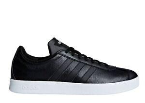 Adidas VL COURT 2.0 B42315 Noir Chaussures Femme Baskets Sportif