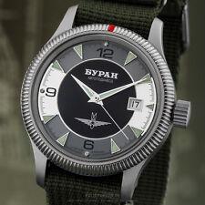 BURAN Fliegeruhr 2824 Automatik 2824/6503721 russische Uhr mechanisch mod. B-Uhr